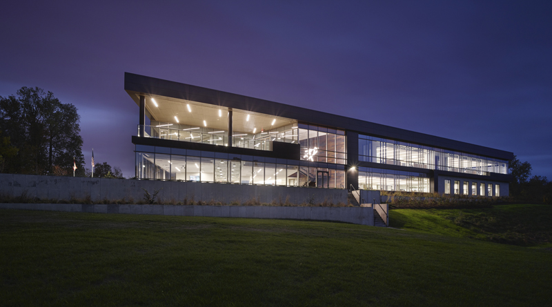 Oatey Corporate Headquarters Tracking LEED Gold