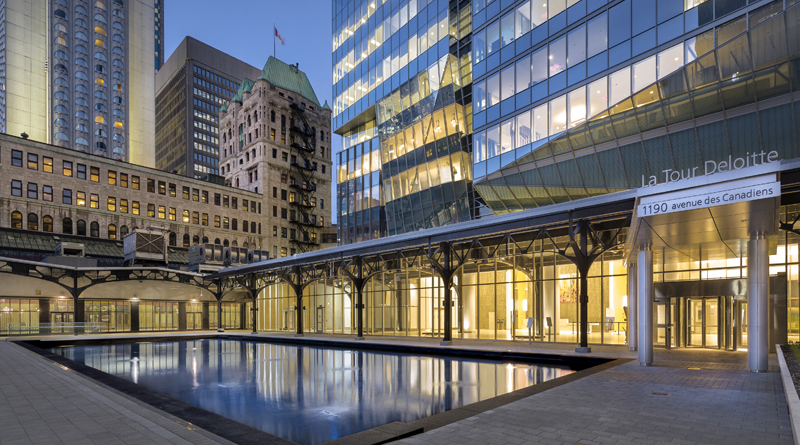 Deloitte Tower Becomes First LEED Platinum Office Building in Montreal