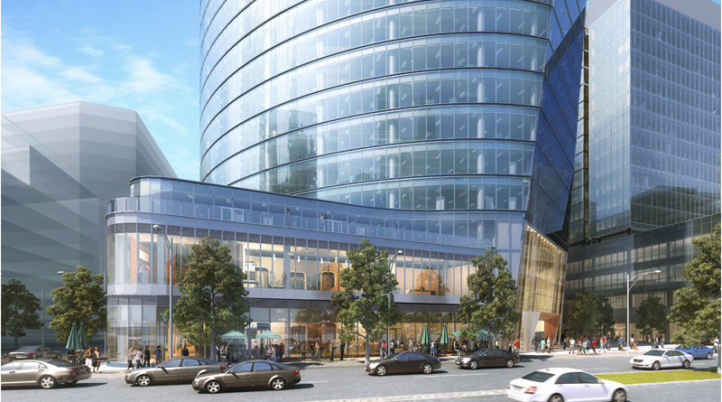 121 Seaport Office Tower Uses Elliptical Design for Energy Efficiency